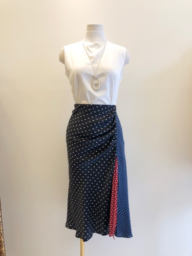 MAX POLKA DOT SKIRT